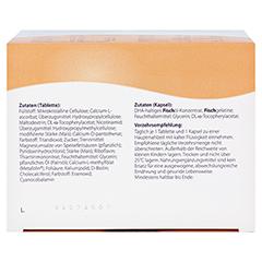 FEMIBION Schwangerschaft 2 D3+DHA+400 µg Folat + gratis MAM Babyflasche 2x96 Stück - Unterseite