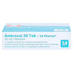 Ambroxol 30 Tab-1A Pharma 50 St�ck N2 - Unterseite