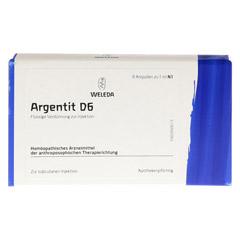 ARGENTIT D 6 Ampullen 8 Stück N1 - Vorderseite