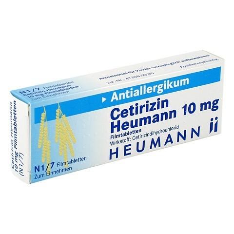 Cetirizin Heumann 10mg 7 Stück