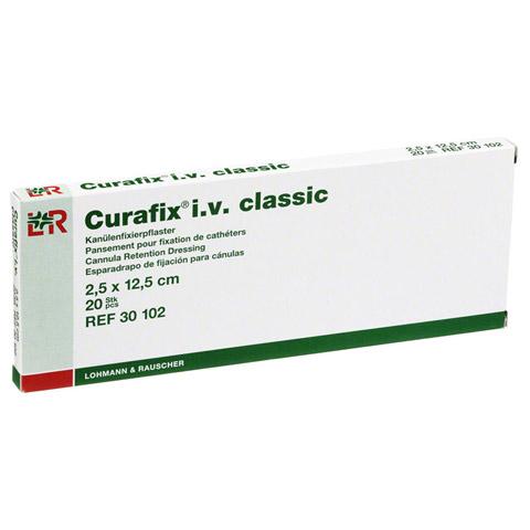 CURAFIX i.v. classic Pflaster 2,5x12,5 cm 20 St�ck