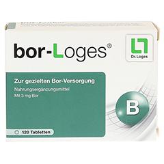 BOR-Loges Tabletten 120 Stück - Vorderseite