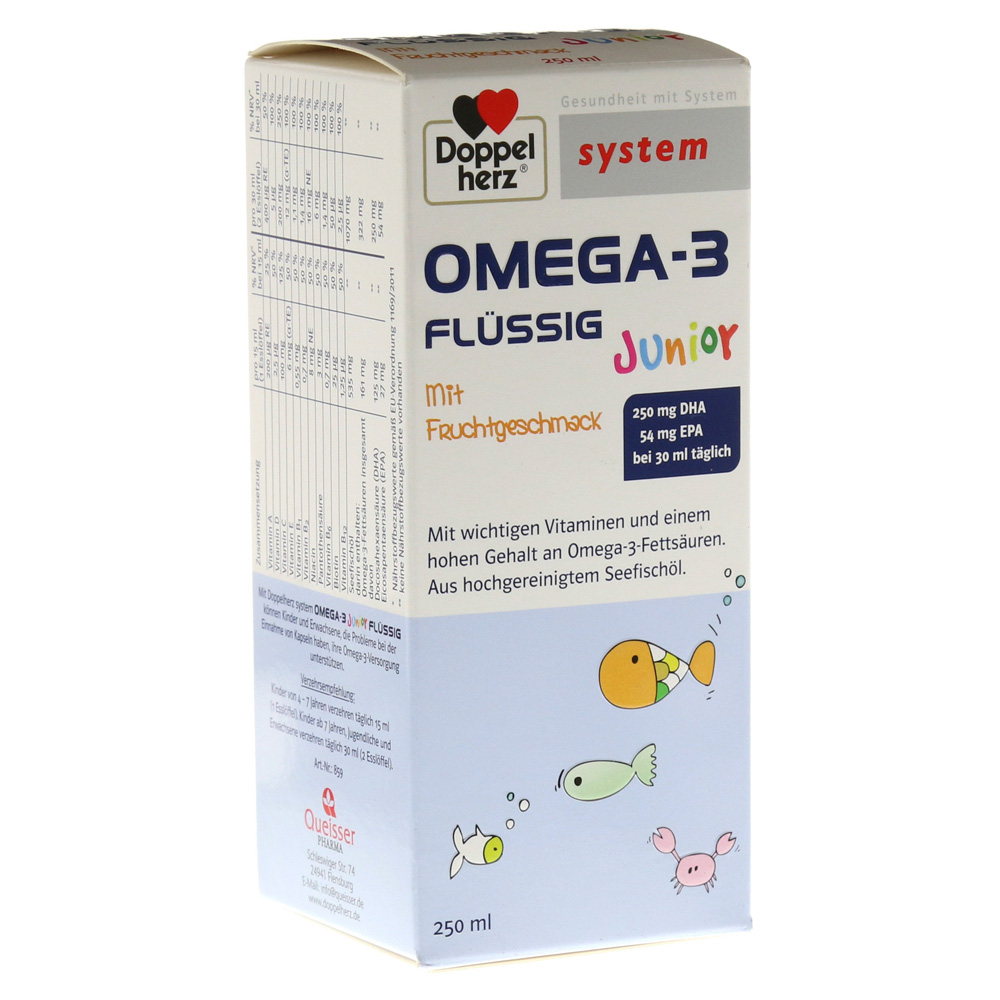 doppelherz omega 3 junior fl ssig system 250 milliliter online bestellen medpex versandapotheke. Black Bedroom Furniture Sets. Home Design Ideas