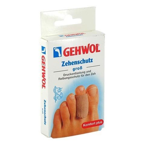 GEHWOL Polymer Gel Zehen Schutz groß 2 Stück
