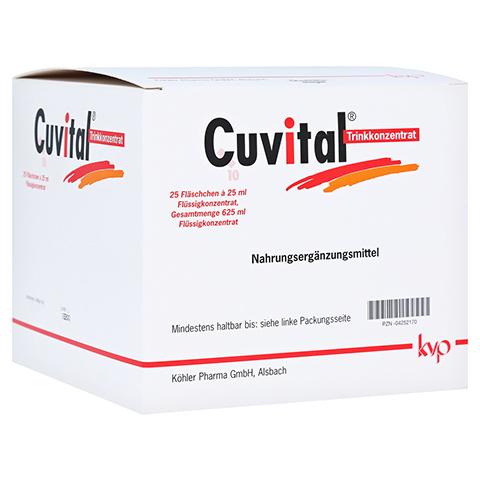 CUVITAL Trinkkonzentrat 25x25 Milliliter