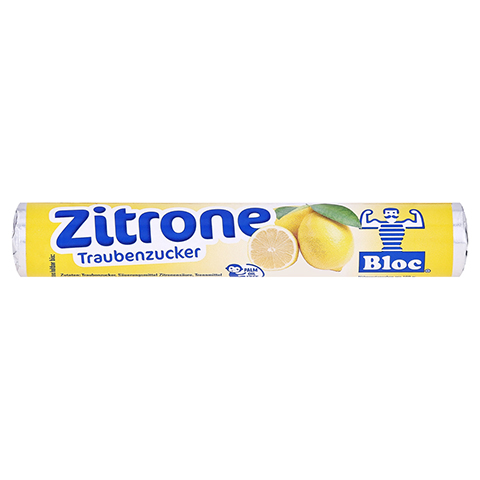 BLOC Traubenzucker Zitrone Rolle 1 St�ck