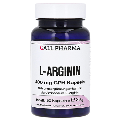L-ARGININ 400 mg Kapseln 60 St�ck