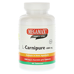 L-CARNIPURE 1000 mg Kautabletten 60 St�ck