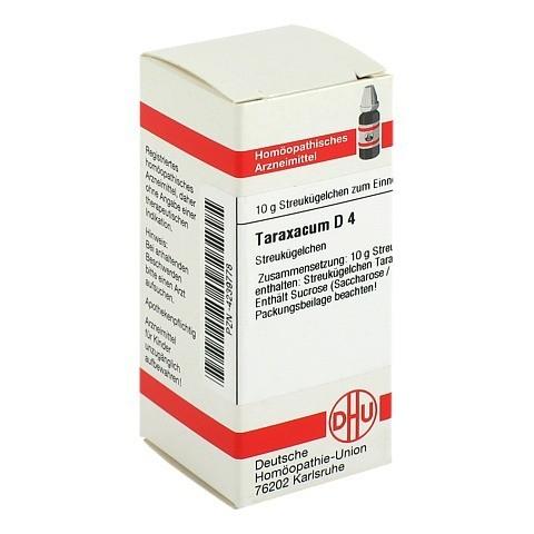 TARAXACUM D 4 Globuli 10 Gramm N1