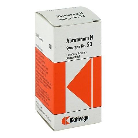SYNERGON KOMPLEX 53 Abrotanum N Tabletten 100 St�ck