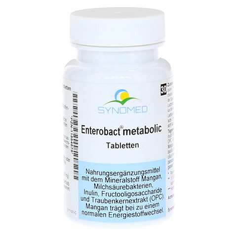 ENTEROBACT metabolic Tabletten 30 Stück