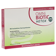 OMNI BiOTiC Hetox Beutel 7x6 Gramm