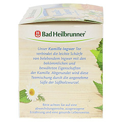 BAD HEILBRUNNER Tee Kamille-Ingwer Filterbeutel 15 Stück - Linke Seite