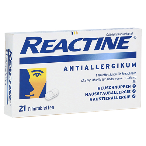 Reactine 21 St�ck N1