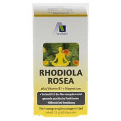 RHODIOLA ROSEA Kapseln 200 mg 60 Stück - Vorderseite