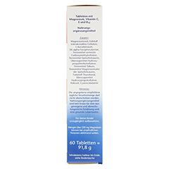 DOPPELHERZ Magnesium 400+B12+C+E Tabletten 60 Stück - Rechte Seite