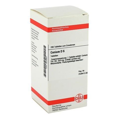 CONIUM D 6 Tabletten 200 Stück N2