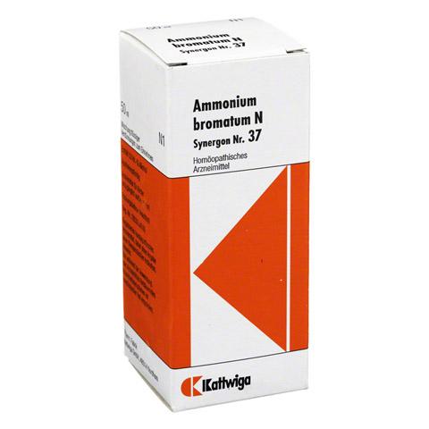 SYNERGON KOMPLEX 37 Ammonium bromatum N Tropfen 50 Milliliter N1