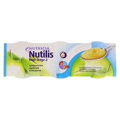 NUTILIS Fruit Apfelgeschmack Creme 3x150 Gramm - Vorderseite