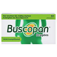 Buscopan Dragees 50 Stück N2 - Vorderseite