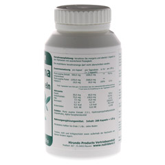 MUIRA PUAMA 500 mg Extrakt Kapseln 200 St�ck - R�ckseite