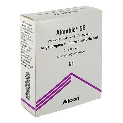Alomide SE 1mg/ml Augentropfen 20x0.4 Milliliter N2