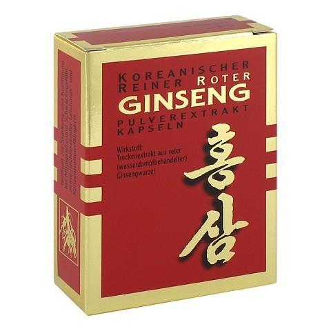 Koreanischer Reiner Roter Ginseng Pulverextrakt 30 Stück