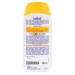 LADIVAL Schutz&Bräune Plus Lotion LSF 20 200 Milliliter - Rückseite