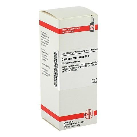 CARDUUS MARIANUS D 4 Dilution 50 Milliliter N1