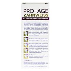 PERLWEISS Pro-Age Zahnweiss 50 Milliliter - Rückseite