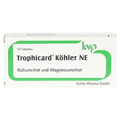 TROPHICARD Köhler NE Tabletten 10 Stück - Vorderseite