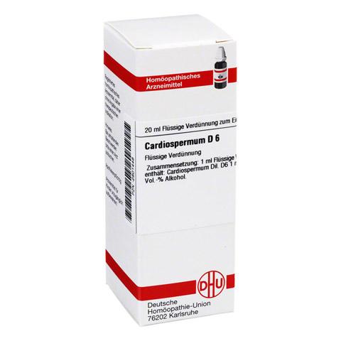 CARDIOSPERMUM D 6 Dilution 20 Milliliter N1