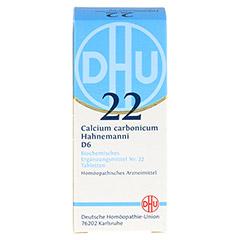 BIOCHEMIE DHU 22 Calcium carbonicum D 6 Tabletten 80 Stück N1 - Vorderseite