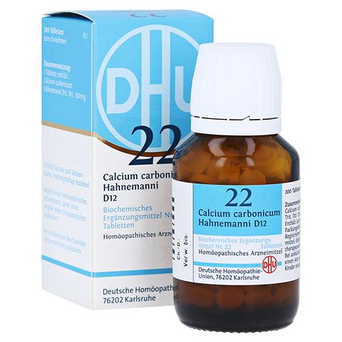 BIOCHEMIE DHU 22 Calcium carbonicum D 12 Tabletten 200 St�ck N2