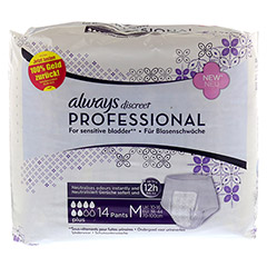 ALWAYS discreet professional Pants plus medium 14 Stück - Vorderseite