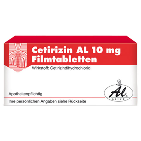 Cetirizin AL 10mg 20 St�ck N1