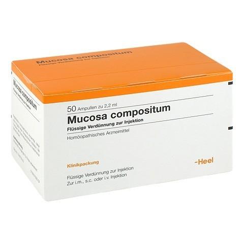 MUCOSA compositum Ampullen 50 Stück