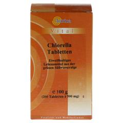 CHLORELLA TABLETTEN 500 mg 200 Stück - Vorderseite