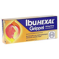 IBUHEXAL Grippal 200 mg/30 mg Filmtabletten 20 Stück N1