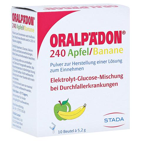 Oralpädon 240 Apfel-Banane 10 Stück N1