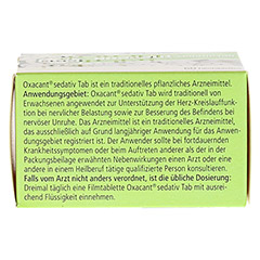OXACANT sedativ Tab 60 Stück - Unterseite