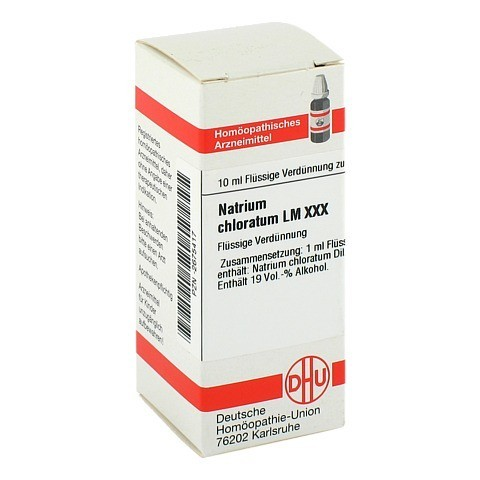 LM NATRIUM chloratum XXX Dilution 10 Milliliter N1