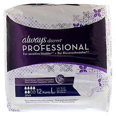 ALWAYS discreet professional Pants plus large 12 Stück - Vorderseite