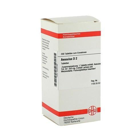 AESCULUS D 2 Tabletten 200 Stück N2