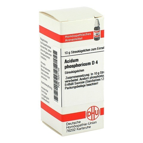 ACIDUM PHOSPHORICUM D 4 Globuli 10 Gramm N1