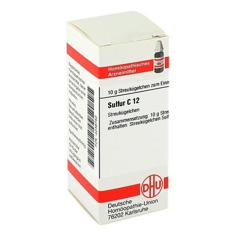 SULFUR C 12 Globuli 10 Gramm N1