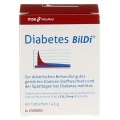 DIABETES BilDi Tabletten 60 St�ck - Vorderseite