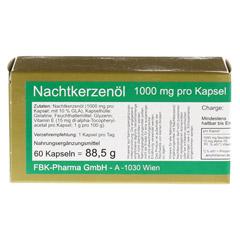 NACHTKERZEN�L 1000 Kapseln 60 St�ck - Vorderseite
