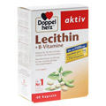 DOPPELHERZ Lecithin+B-Vitamine Kapseln 40 Stück