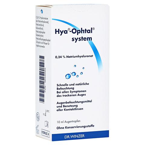 HYA OPHTAL system Augentropfen 10 Milliliter